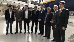 Ryanair invierte 10 millones en su nuevo centro de mantenimiento en Sevilla